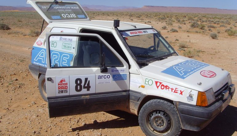 AIRE is proud sponsor of the Superfaba racing team in the 7th edition of the Altruistic Panda Raid.