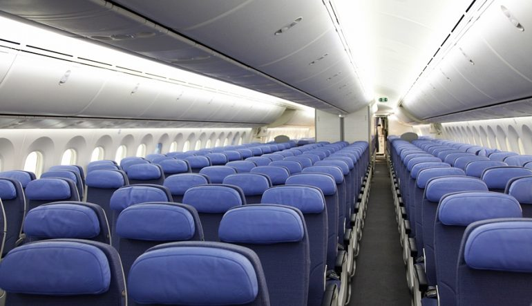 AIR EUROPA SHOWS OFF B787 RETROFFITED WITH NEW CABIN INTERIOR