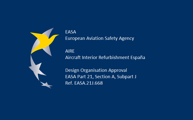 AIRE Receives From EASA the Certificate Granting the Design Organization Approval (DOA)