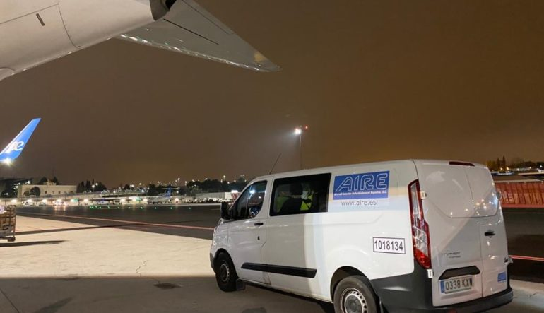 COVID-19: AIRE supports Airlines with cabin interiors and cargo compartments Cleaning & Disinfection service